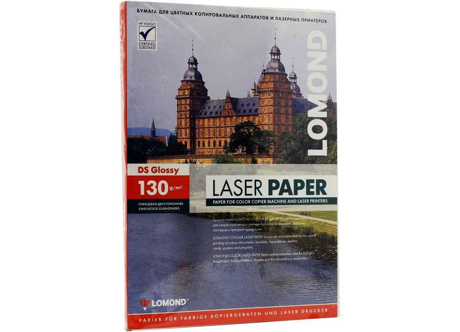 Фото - Фотобумага Lomond для лазерной печати, A3, 130 г/м2, 250 листов, двусторонняя, глянцевая (0310131) canon фотобумага глянцевая 2311b003