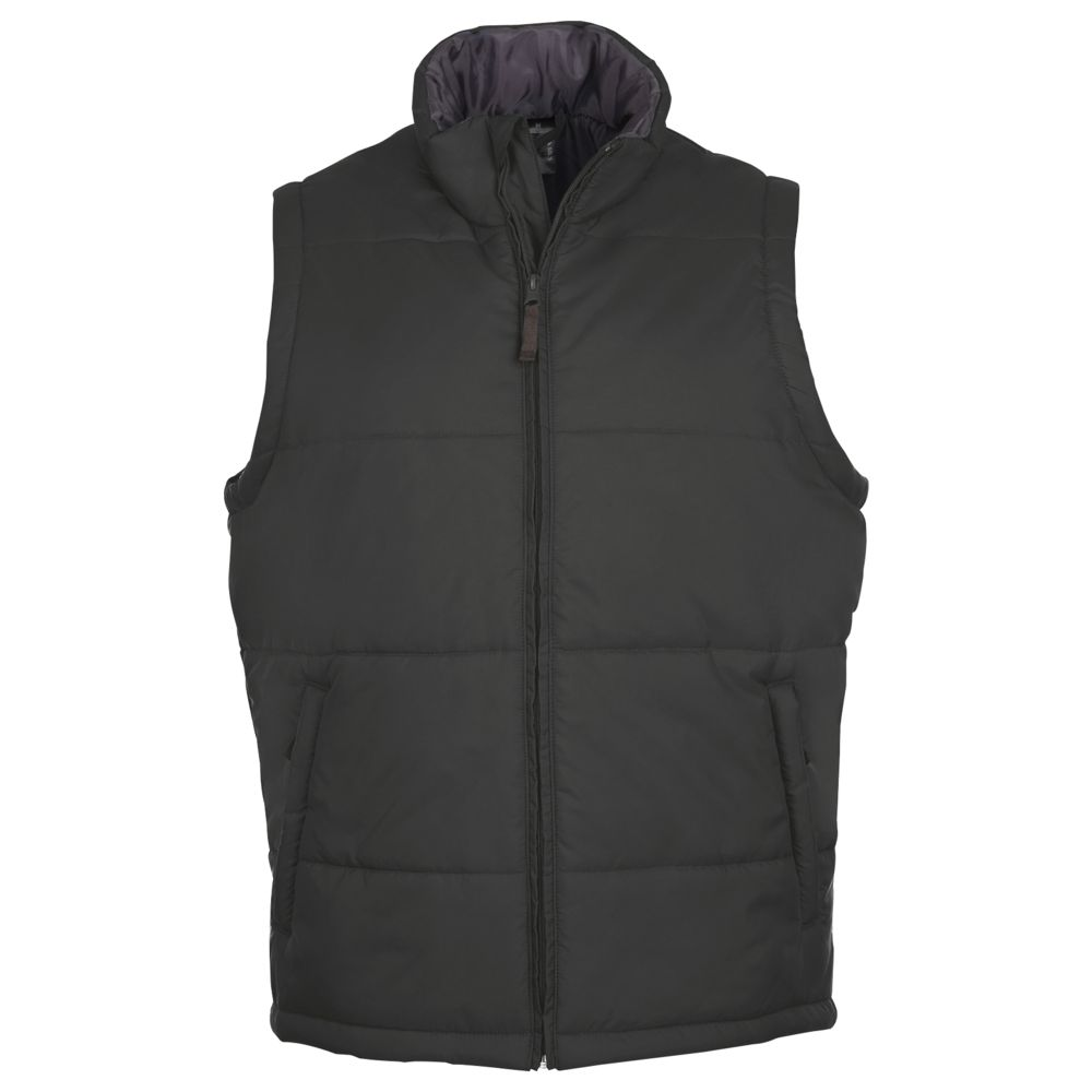 Жилет WARM, темно-серый, размер XL цена 2017