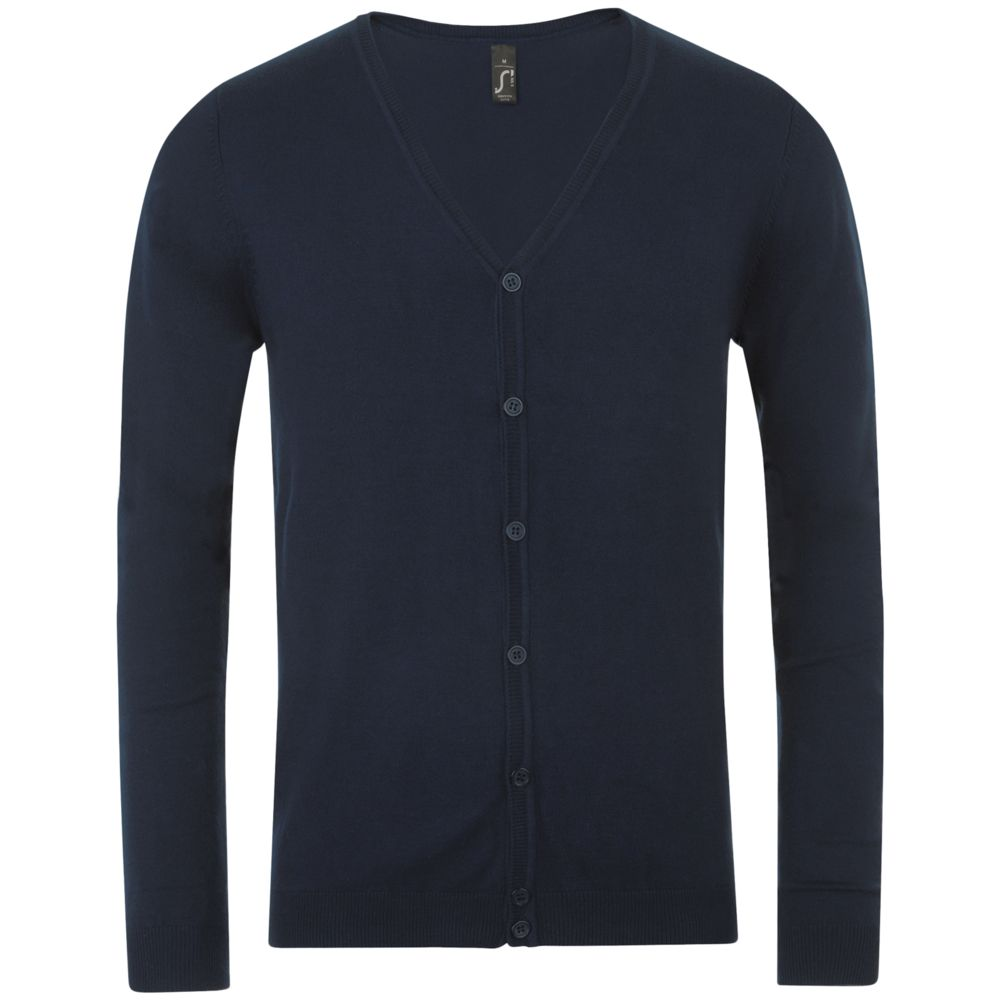 Кардиган мужской GRIFFITH темно-синий, размер L цена 2017