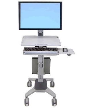 Мобильное рабочее место для монитора WorkFit C LD (24-198-055)