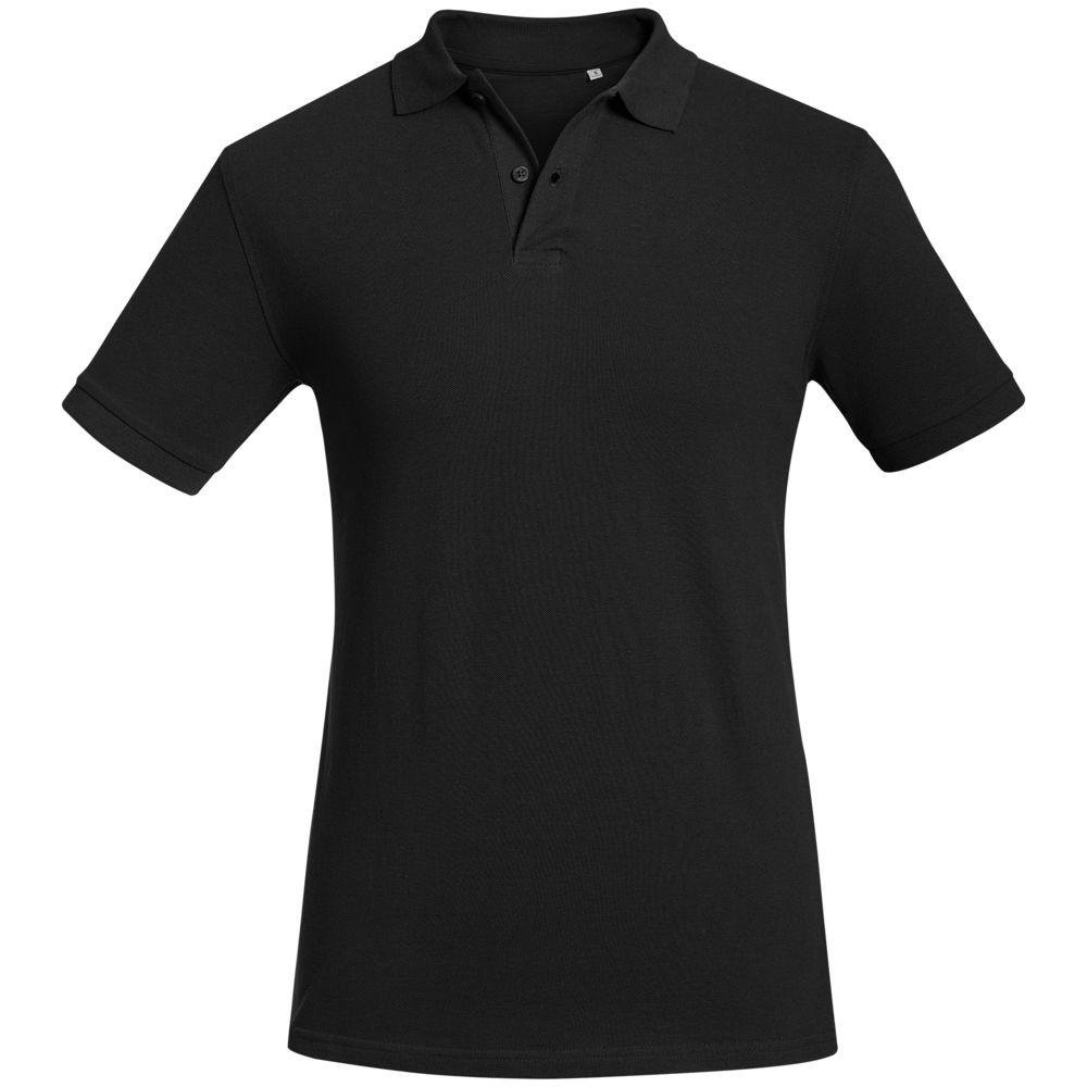 Рубашка поло мужская Inspire черная, размер S рубашка поло мужская morton черная размер s