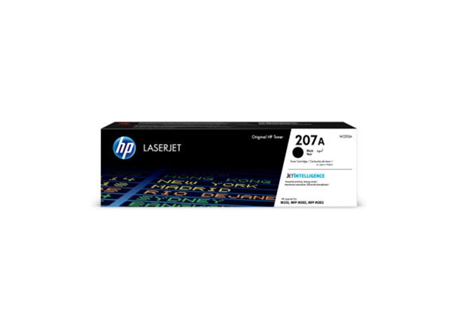 Фото - Картридж HP 207A LJ черный, 1350 стр. (W2210A) картридж лазерный hp 207a w2213a пурпурный
