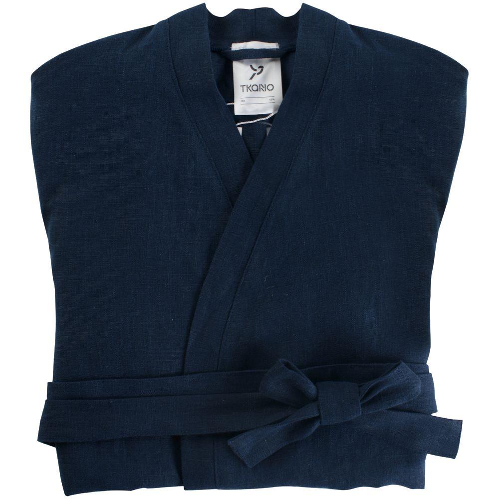 Халат женский Essential, темно-синий, размер S халат женский iv36504