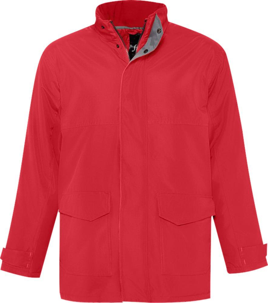 Куртка унисекс RECORD красная, размер S фото
