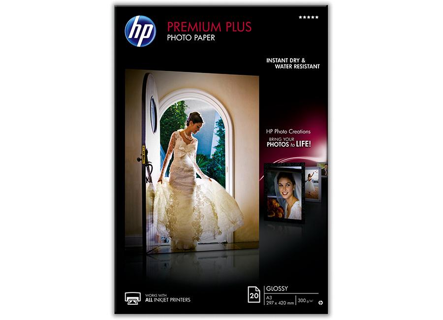 Фото - Фотобумага HP Premium Plus А3, 300г/м2, глянцевая, 20 листов (CR675A) бур speedhammer по бетону 12х250 300 мм sds plus irwin 10501995