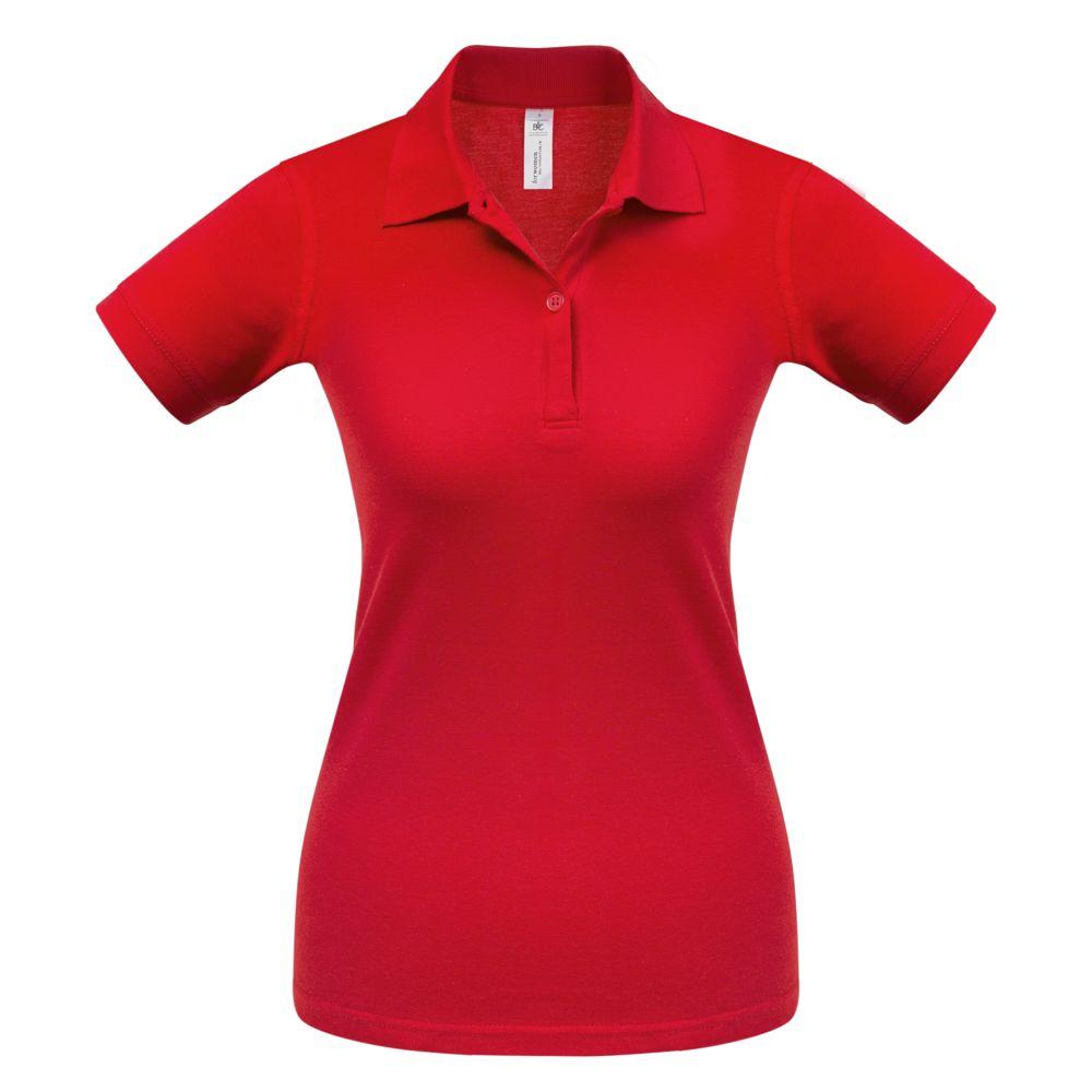 Рубашка поло женская Safran Pure красная, размер S