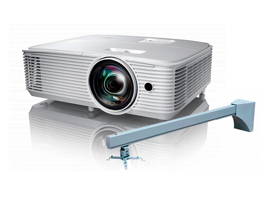 Фото - Проектор Optoma X308STe в комплекте с настенным креплением Wize WTH130 объектив для проектора sim2 m2 lens для sirio