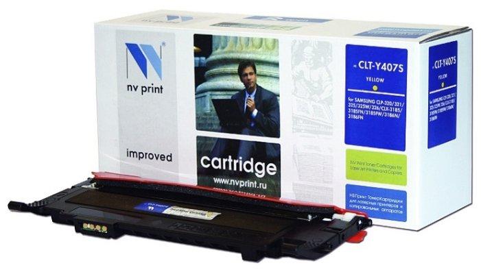 Картридж NV Print CLT-Y407S Y фото
