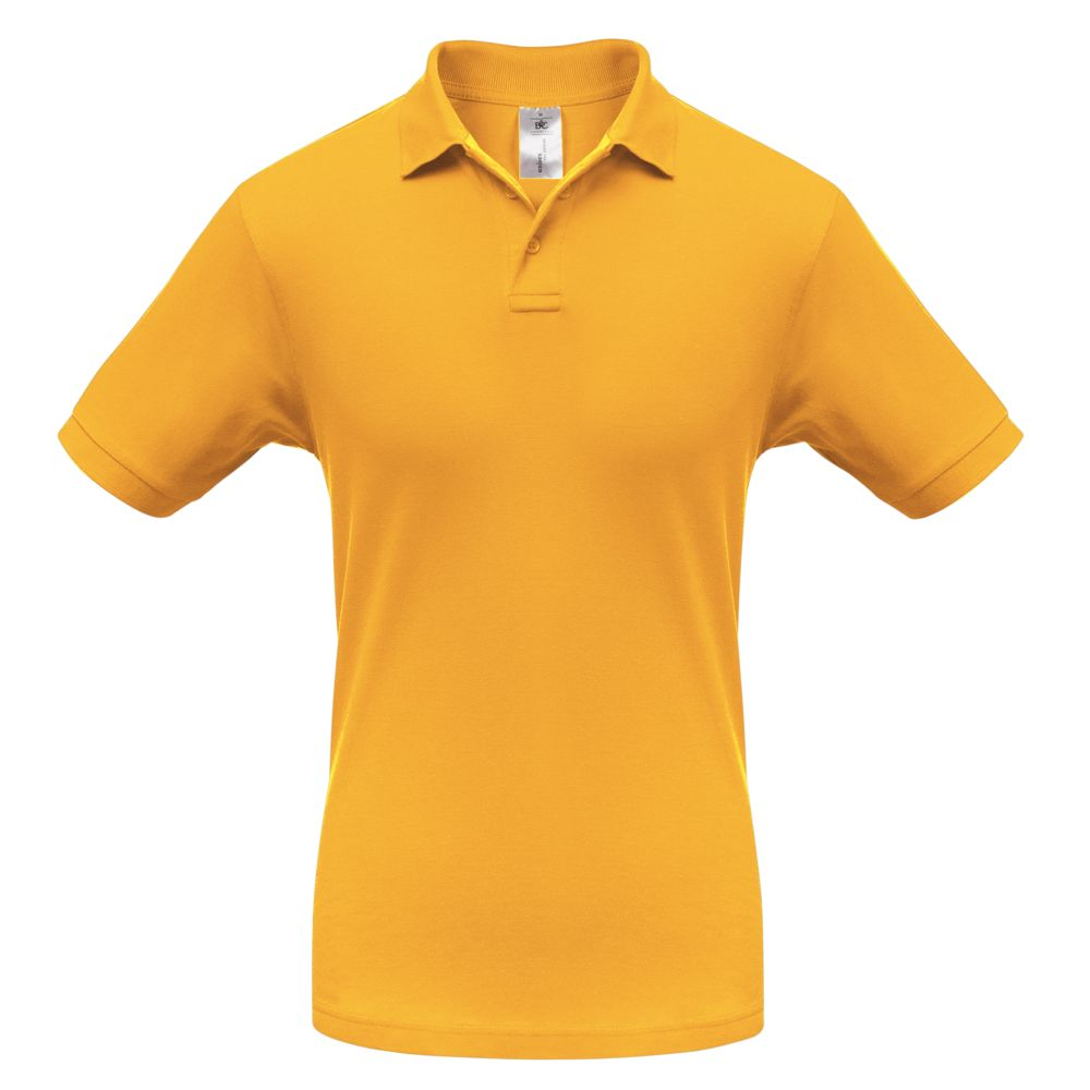 Рубашка поло Safran желтая, размер XL