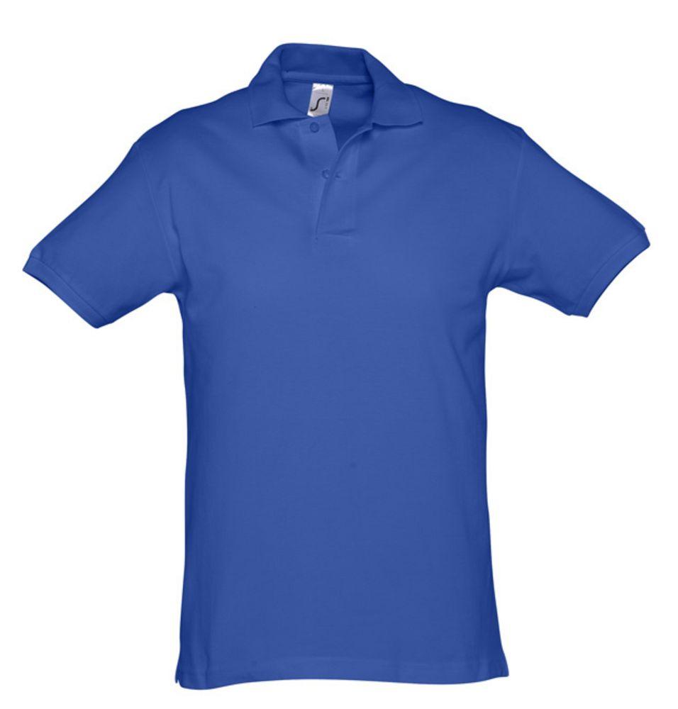 Рубашка поло мужская SPIRIT 240 ярко-синяя, размер XL рубашка поло мужская spirit 240 ярко синяя размер xxl