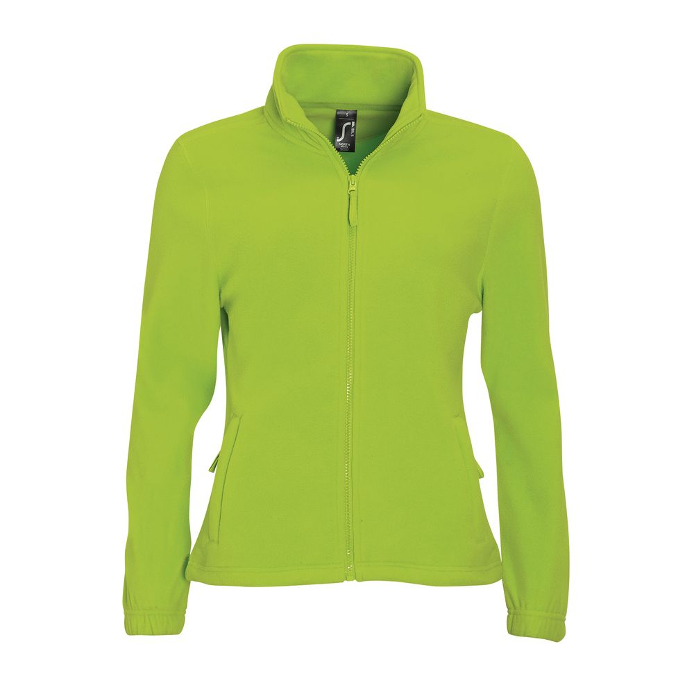 цена Куртка женская Notrth Women, зеленый лайм, размер XXL онлайн в 2017 году