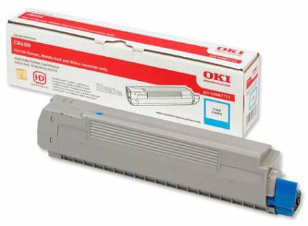Тонер-картридж TONER-C801/C821-C-NEU (44643003 / 44643007)