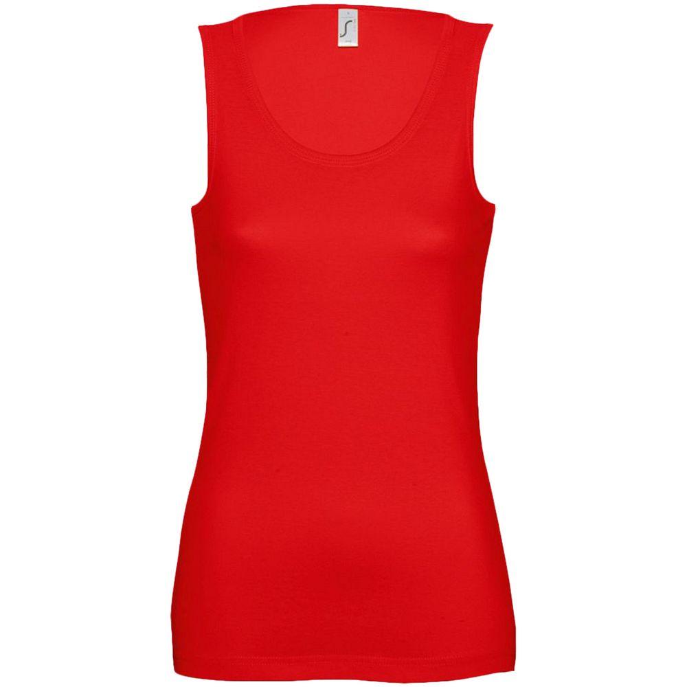 Майка женская JANE 150, красная, размер S