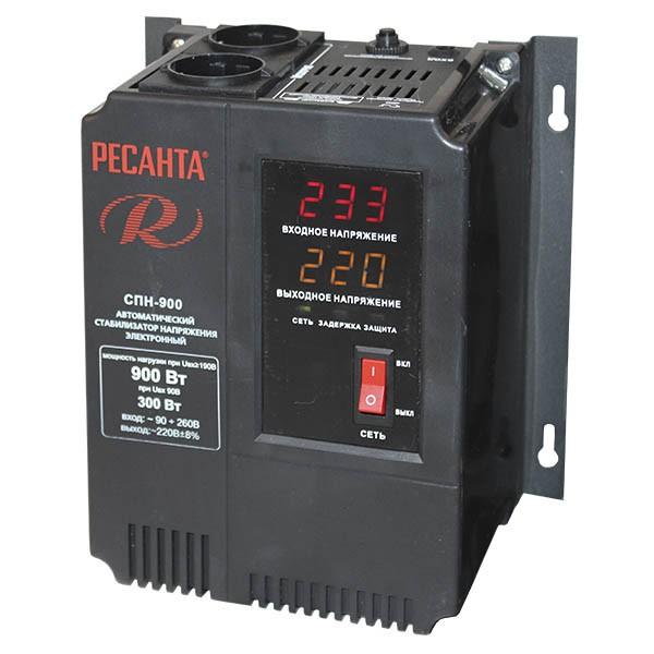Купить Стабилизатор напряжения, СПН-900, Ресанта
