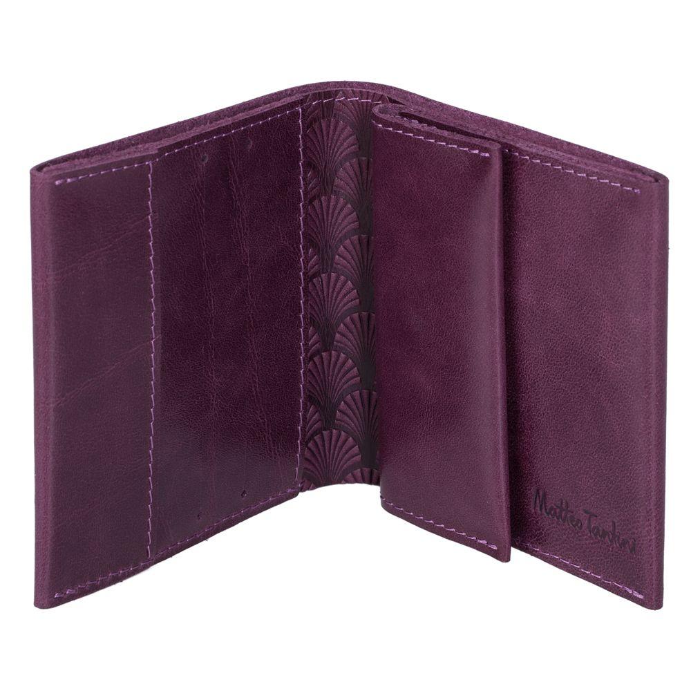 Портмоне Letizia, фиолетовое