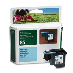 Фото - Печатающая головка HP Printhead №85 Light Cyan (C9423A) hp latex printhead cleaning kit