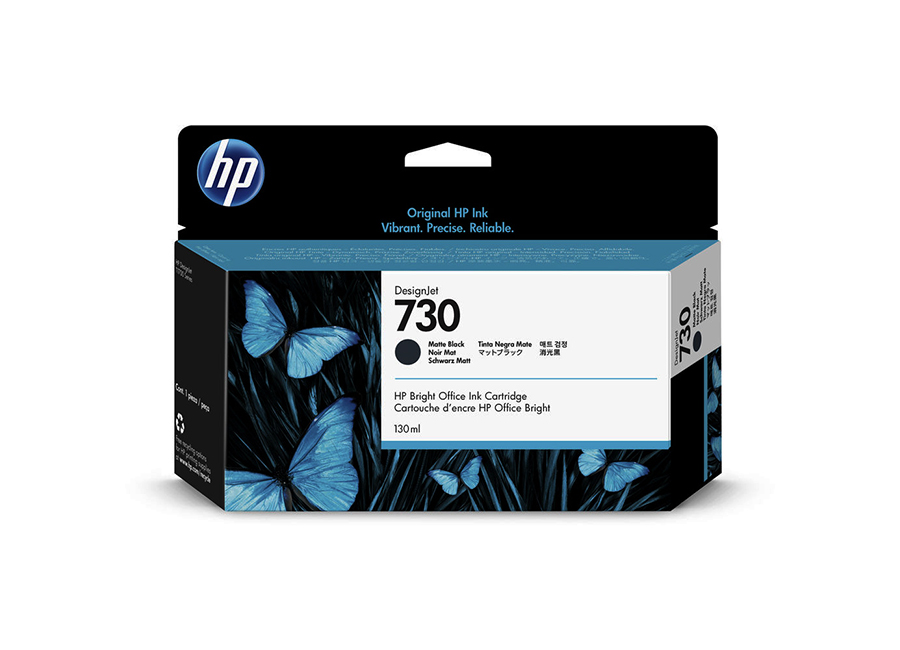 HP DesignJet 730 Matt Black 130 мл (P2V65A)