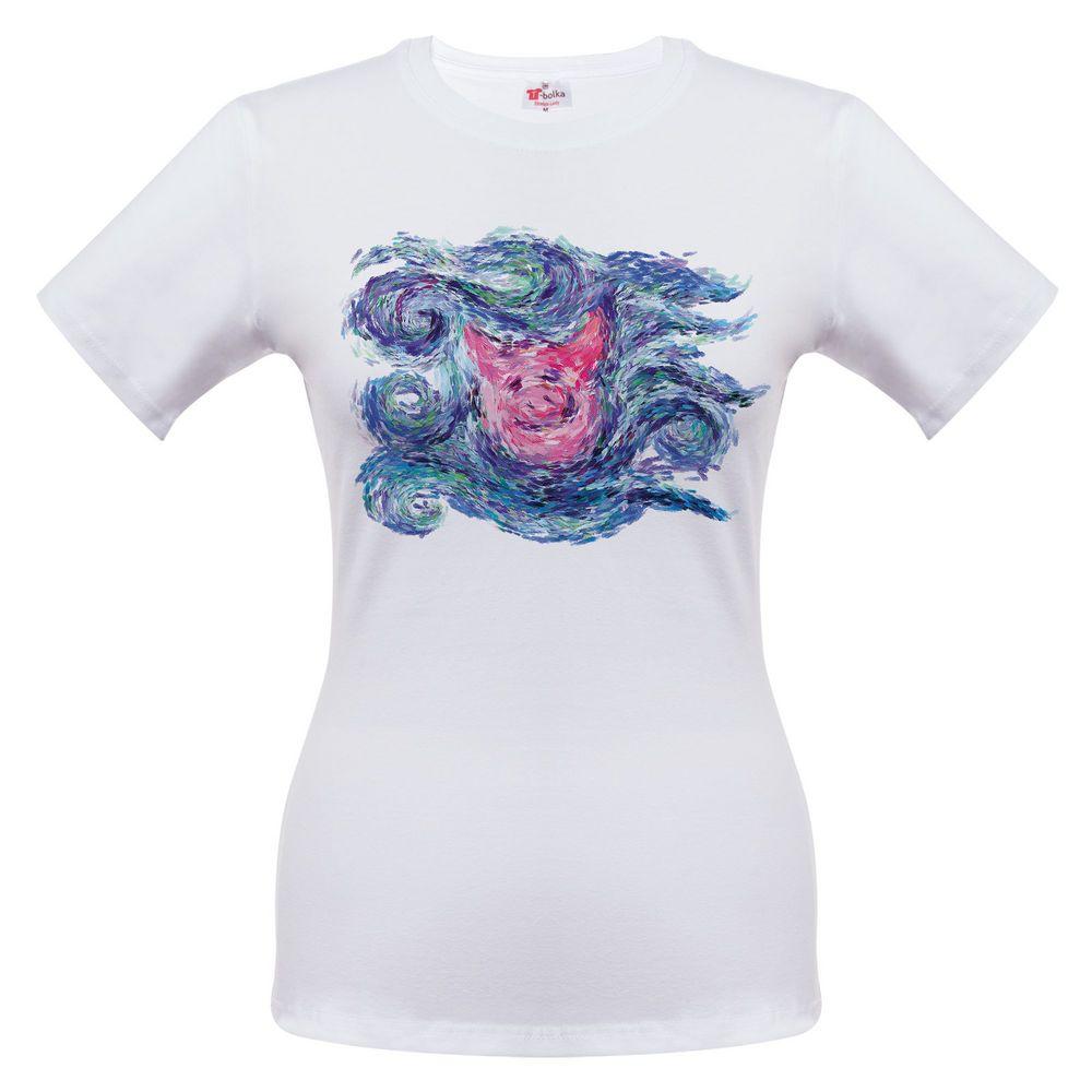 Футболка женская «Ван-Пиг», белый, размер XL футболка rainbow tekstil route66 размер xl белый