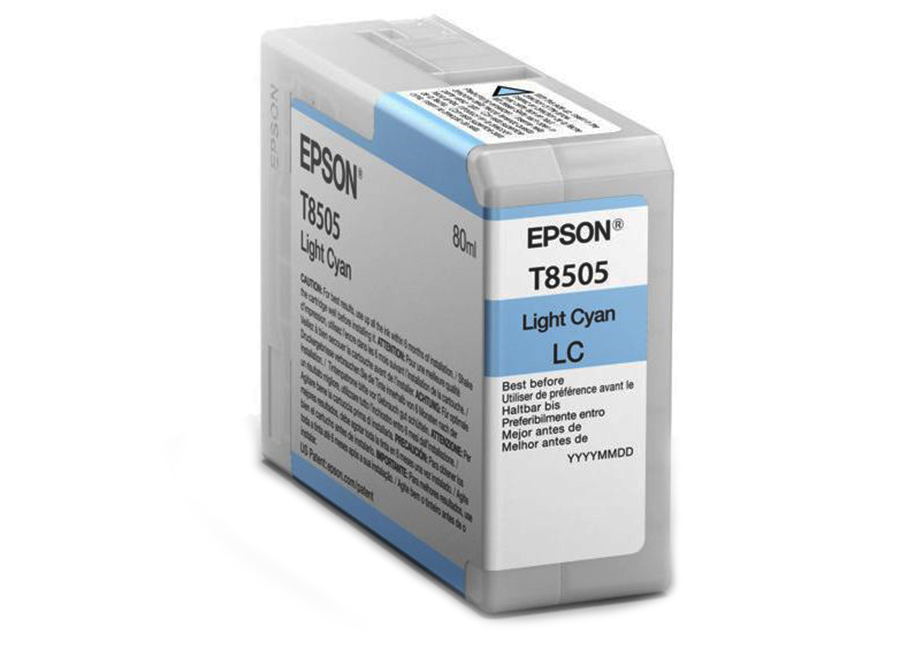 Epson T8505 Light Cyan 80 мл (C13T850500)