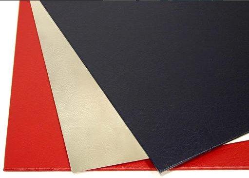Твердые обложки O.HARD COVER Mundial 217x151 мм с покрытием «кожа» без окна, красные фото