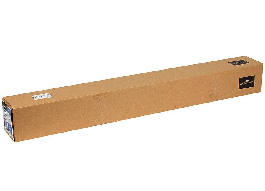 Albeo Universal Uncoated Paper 80 г/м2, 0.610x100 м, 50.8 мм (Z80-24/100) albeo universal uncoated paper 160 г м2 0 610x30 5 м 50 8 мм 6 рулонов z160 24 6