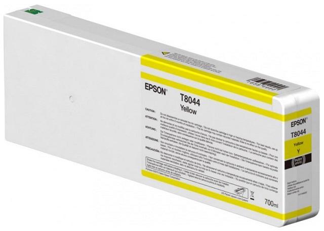 Фото - Epson T8044 Yellow 700 мл (C13T804400) набор контейнеров epson t7414 yellow 6x1000 мл c13t773440