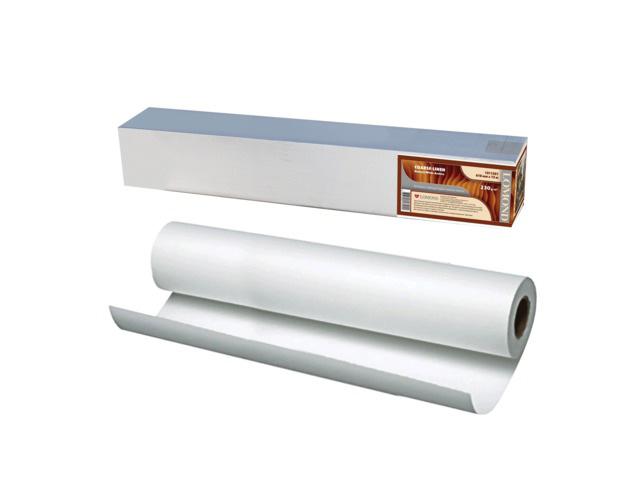Холст Lomond Cotton Canvas хлопковый, ярко-белый, матовый 340 г/м2, 1.067x15 м, 50.8 мм (1207073) фото