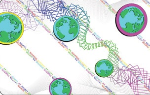 Фото - Лента ламинационная повышенной прочности с голограммой DuraGard 1.0 mil Secure Globe GO GREEN Datacard 504971-002 лента ламинационная с голограммой и вырезом под магнитную полосу duragard optiselect 0 6 mil secure globe datacard 508808 401