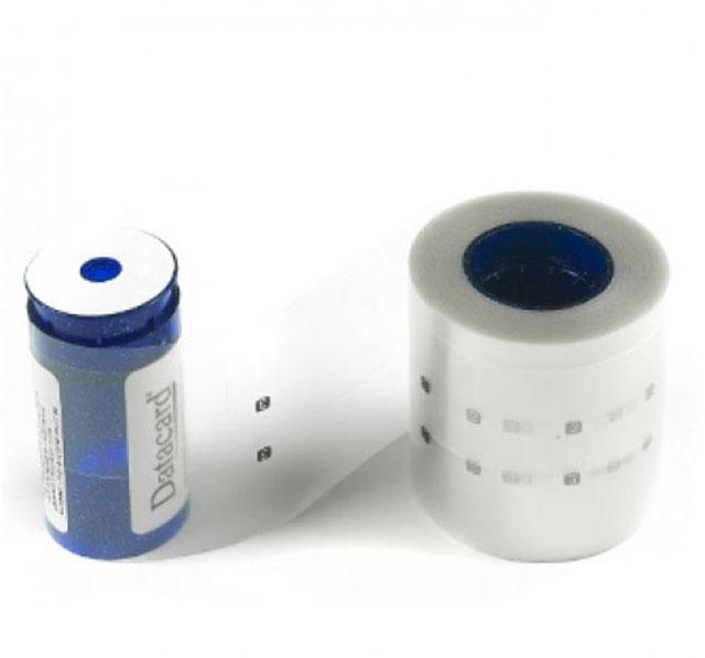 Лента ламинационная повышенной прочности DuraShield Clear Overlay с вырезом под чип Datacard 508834-002