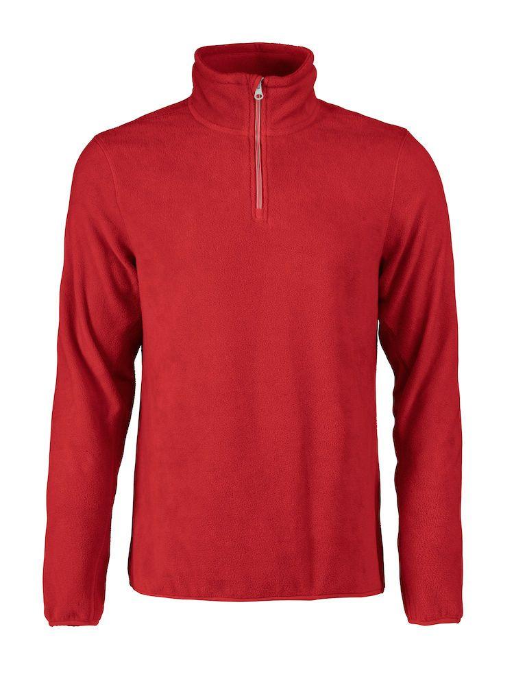Толстовка флисовая мужская Frontflip красная, размер S толстовка флисовая женская frontflip красная размер s