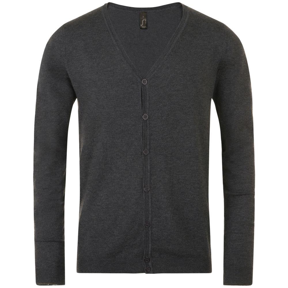 Кардиган мужской GRIFFITH черный меланж, размер XL кардиган мужской griffith черный размер s