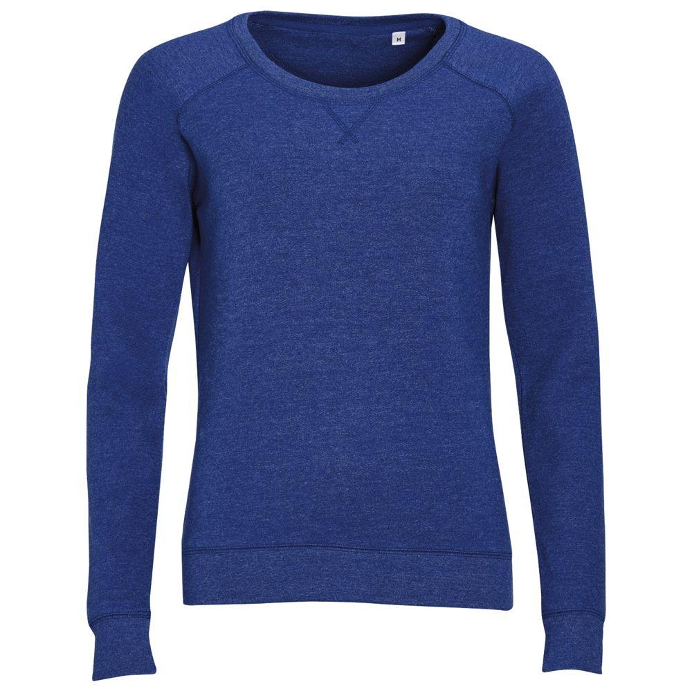 Толстовка STUDIO WOMEN синий меланж, размер S