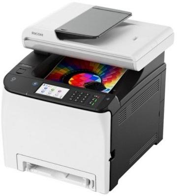 Фото - SP C260SFNw принтер ricoh sp c261dnw a4 сетевой wifi wifi direct nfc psl postscript цветной дуплексом 20 стр мин память 256 мб 30000 стр