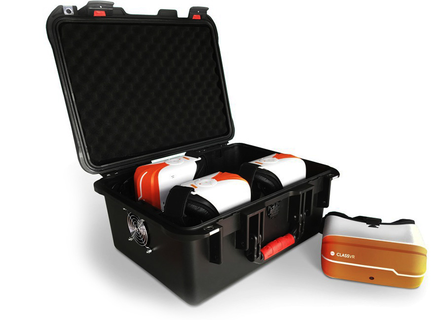 Фото - Комплект оборудования для обучения в виртуальной реальности ClassVR для 4 учащихся с доступом к образовательному порталу на 2 года очки виртуальной реальности bobovr z6 black