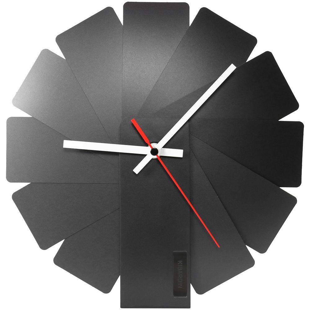 Часы настенные Transformer Clock. Black & Black r12u black