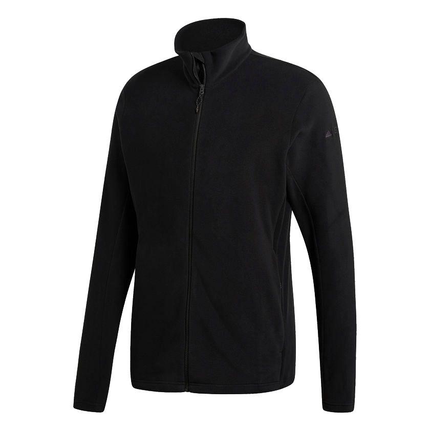 Куртка флисовая мужская Tivid, черная, размер XL