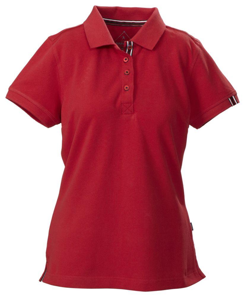 Рубашка поло женская AVON LADIES, красная, размер XL фото