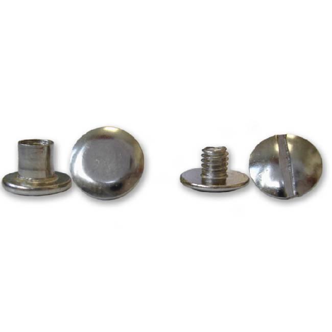 Фото - Болты металлические высота ножки 5 мм, серебро, 100 шт. кольцо топаз голубой серебро 925 пр родир бел родир черн размер 16 5