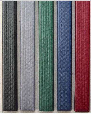 Фото - Цветные каналы с покрытием «ткань» O.CHANNEL SLIM А4 304 мм 7 мм, синий цветные каналы с покрытием ткань o channel а4 304 мм 7 мм синие