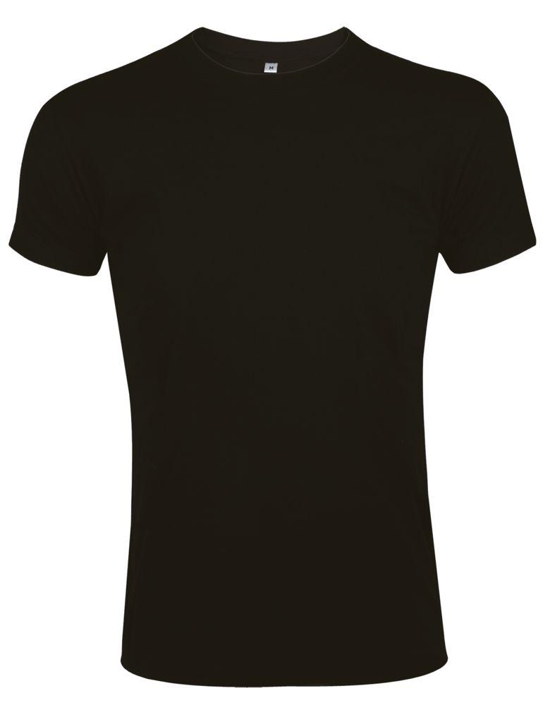 Футболка мужская приталенная IMPERIAL FIT 190, черная, размер XXL черная, размер XXL