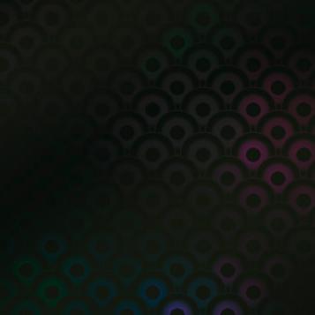 Фото - Пленка для термопереноса на ткань черные круги geometric pattern floor mat