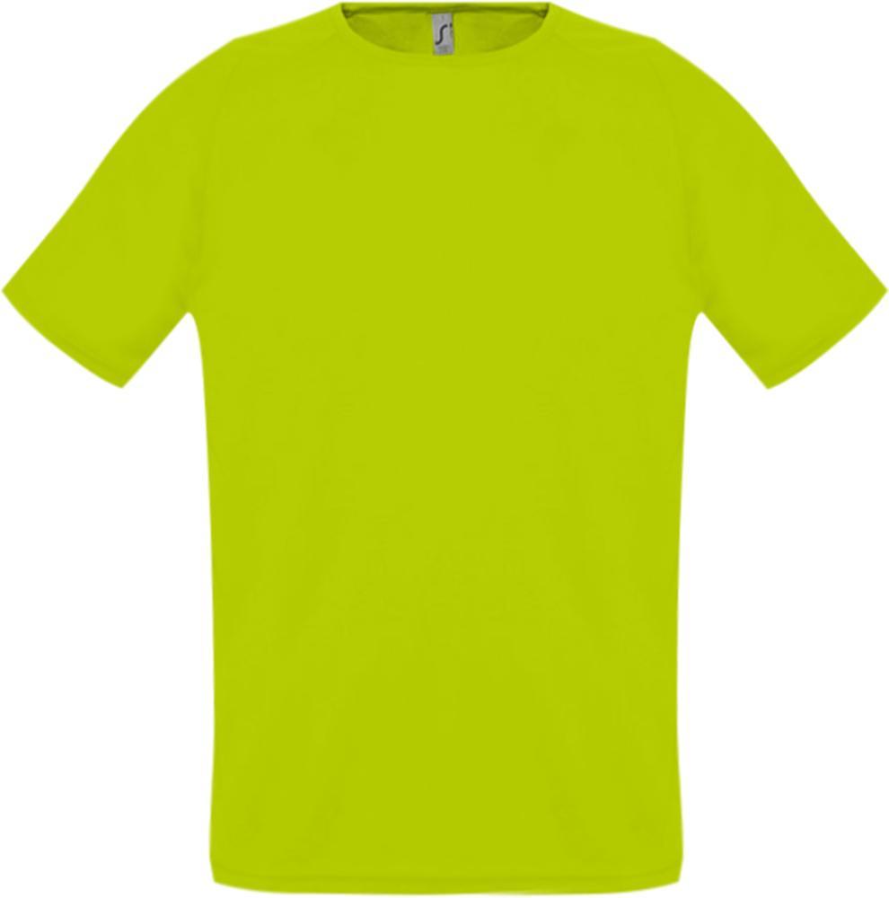 Футболка унисекс SPORTY 140 зеленый неон, размер XXS футболка унисекс sporty 140 красная размер xxs