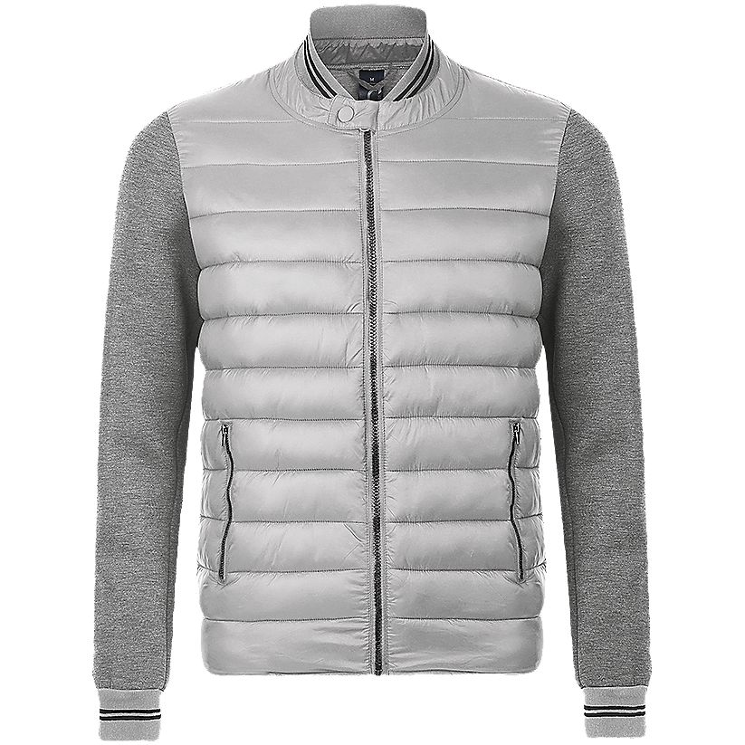 Куртка унисекс VOLCANO меланж/серый, размер M юбка sela цвет серый меланж skk 118 887 7413 размер m 46