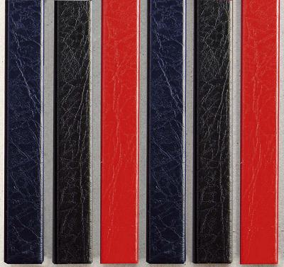 Цветные каналы с покрытием «кожа» O.CHANNEL А5 217 мм 32 мм, черные цветные каналы с покрытием ткань o channel а5 217 мм 24 мм черные
