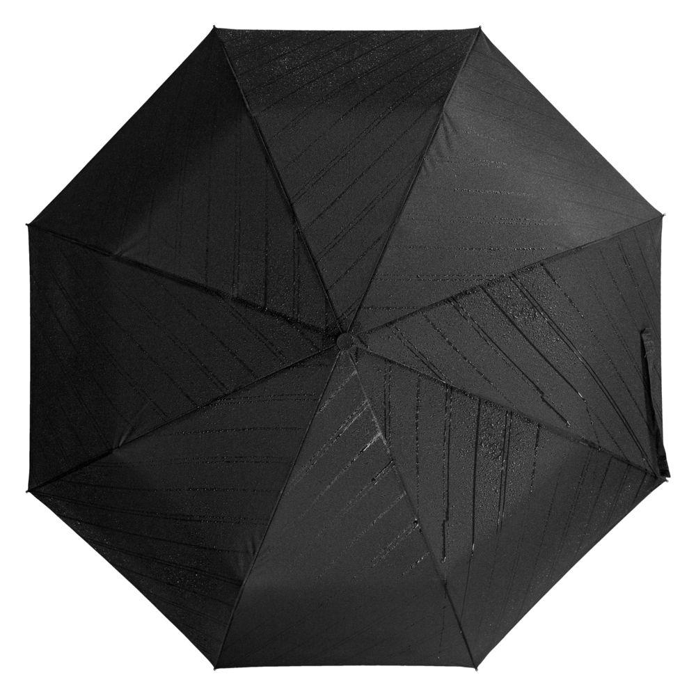 Складной зонт Magic с проявляющимся рисунком, черный складной зонт magic с проявляющимся рисунком фиолетовый