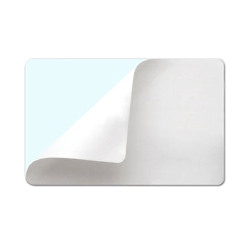 Фото - Наклейка самоклеющаяся UltraCard CR-80 (82266) белая наклейка