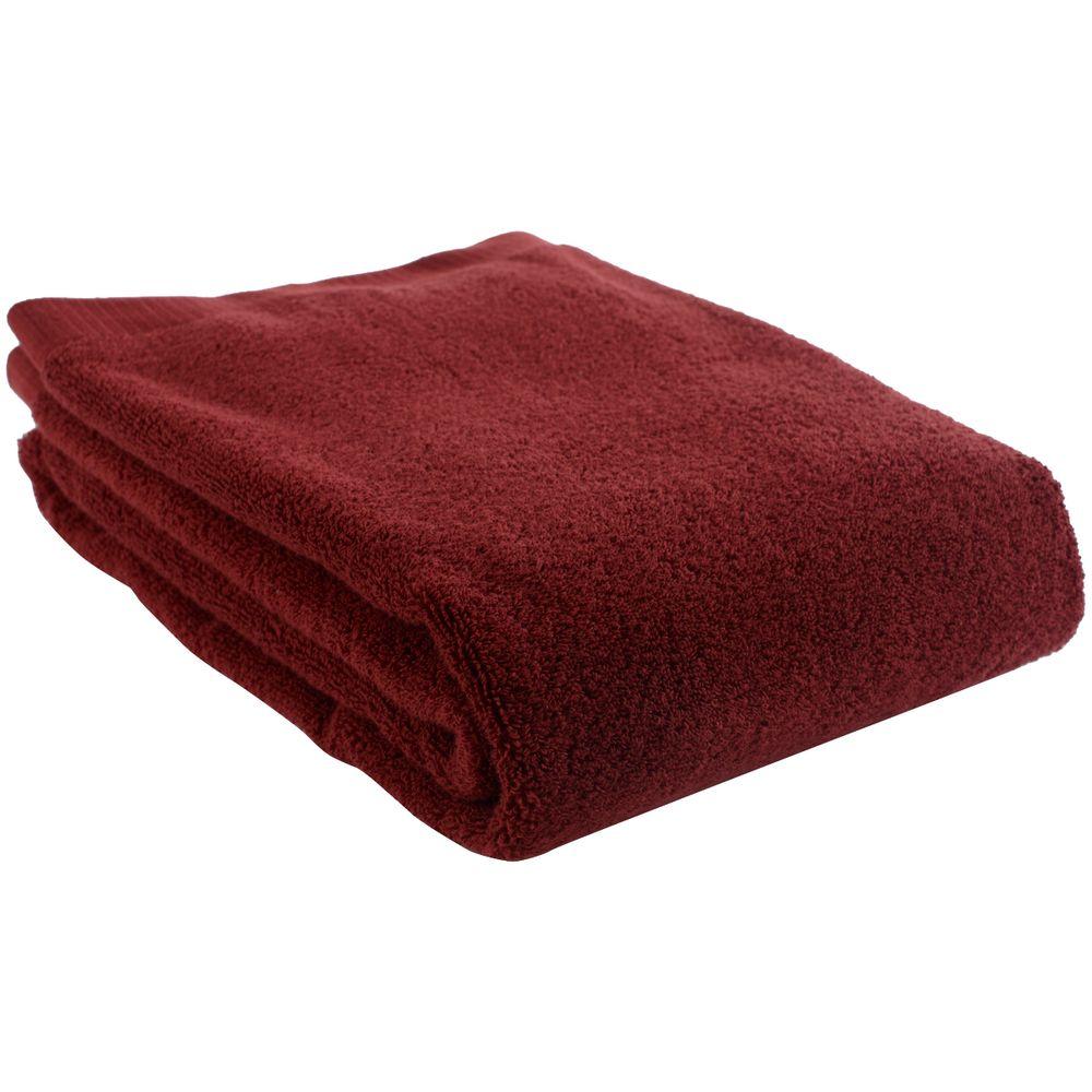 Полотенце Essential, среднее, бордовое