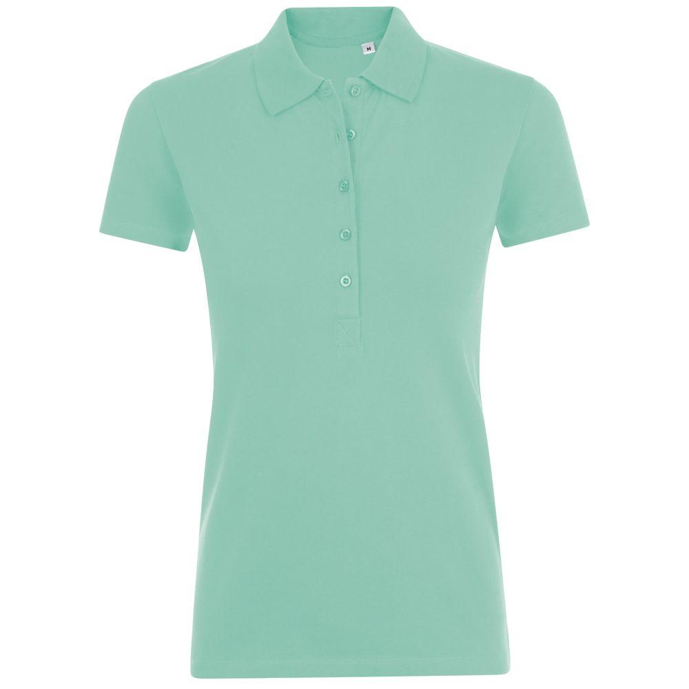 Рубашка поло женская PHOENIX WOMEN зеленая мята, размер XL фото