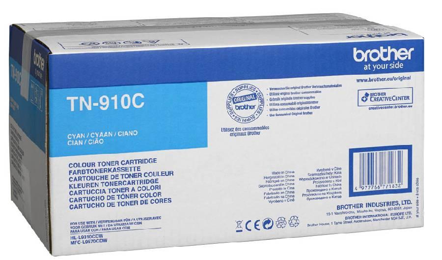 Тонер-картридж TN-910C тонер картридж tn 3430