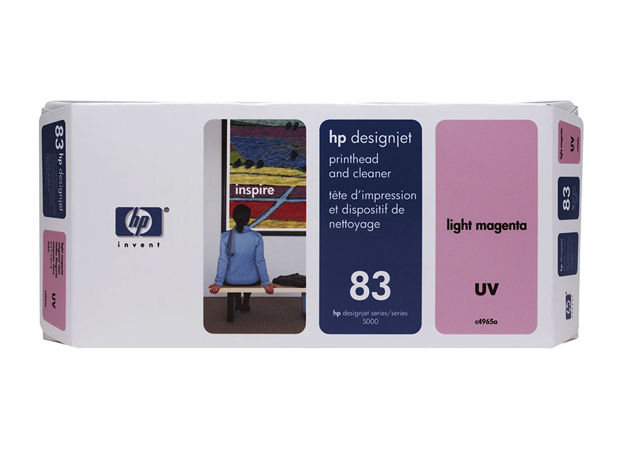 Печатающая головка и чистящая станция HP №83 Light Magenta (C4965A) hot sales 80 printhead for hp80 print head hp for designjet 1000 1000plus 1050 1055 printer